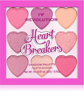 I Heart Revolution Heartbreakers szemhéjfesték paletta