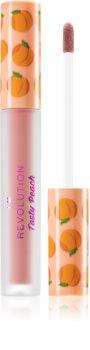 I Heart Revolution Tasty Peach flüssiger Lippenstift