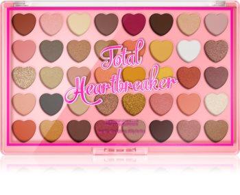 I Heart Revolution Heartbreakers paleta očních stínů velká
