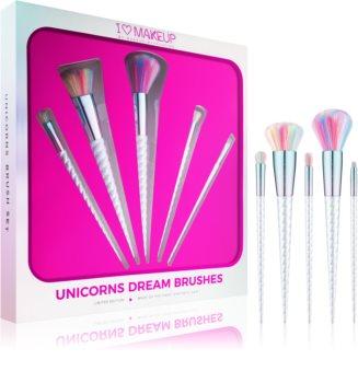 I Heart Revolution Unicorns Dream set de brochas