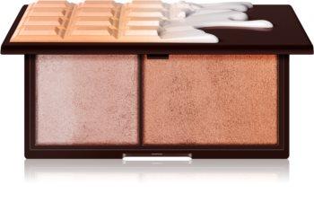 I Heart Revolution Mini Chocolate élénkítő és bronzosító paletta