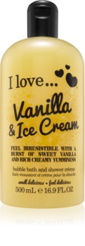 I love... Vanilla & Ice Cream Shower and Bath Cream