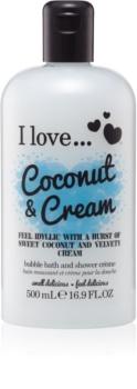I love... Coconut & Cream Gel-Öl für Bad und Dusche