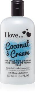 I love... Coconut & Cream sprchový a koupelový gelový olej