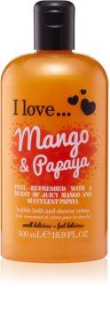 I love... Mango & Papaya Dusch- und Badecreme