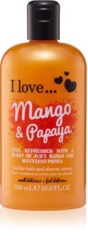 I love... Mango & Papaya крем за душ и вана