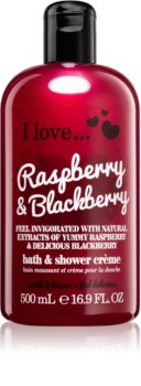 I love... Raspberry & Blackberry крем за душ и вана