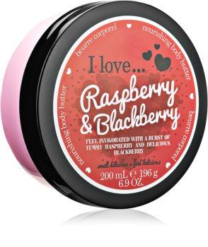 I love... Strawberries & Cream масло для тела