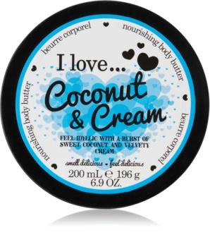 I love... Coconut & Cream βούτυρο σώματος
