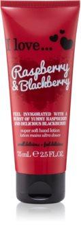 I love... Raspberry & Blackberry crema per le mani