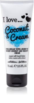I love... Coconut & Cream crème mains