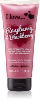 I love... Raspberry & Blackberry scrub doccia