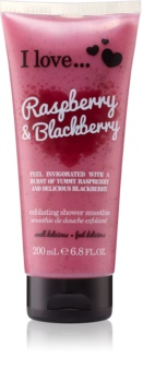 I love... Raspberry & Blackberry Shower Scrub