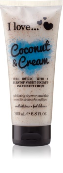 I love... Coconut & Cream gel de dus exfoliant