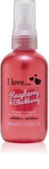 I love... Raspberry & Blackberry erfrischendes Bodyspray