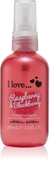 I love... Raspberry & Blackberry spray rafraîchissant corps