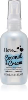 I love... Coconut & Cream Opfriskende kropsspray