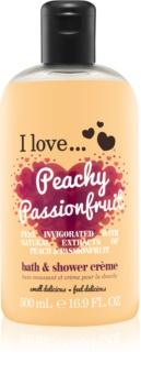 I love... Peachy Passionfruit krema za prhanje in kopanje