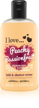 I love... Peachy Passionfruit Shower and Bath Cream