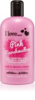 I love... Pink Marshmallow Bruse- og badecreme