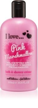 I love... Pink Marshmallow crema per doccia e bagno