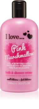 I love... Pink Marshmallow Shower and Bath Cream