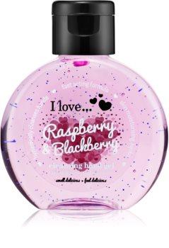 I love... Raspberry & Blackberry gel detergente mani