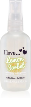 I love... Lemon Sorbet spray rinfrescante corpo