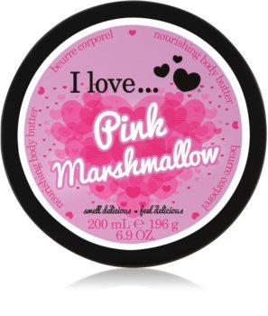 I love... Pink Marshmallow beurre corporel