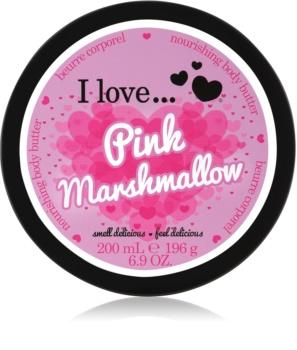 I love... Pink Marshmallow tělové máslo