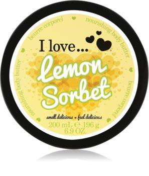 I love... Lemon Sorbet maslo za telo