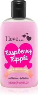 I love... Raspberry Ripple sprchový a koupelový krém