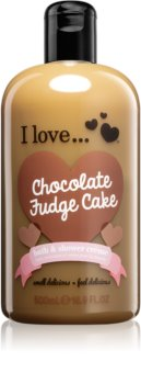 I love... Chocolate Fudge Cake cremă de duș și baie