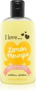 I love... Lemon Meringue Dusch- und Badecreme