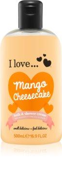 I love... Mango Cheesecake Suihku- Ja Kylpyvoide