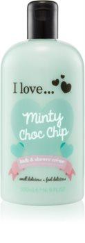 I love... Minty Choc Chip crema per doccia e bagno