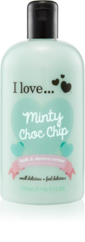 I love... Minty Choc Chip Shower and Bath Cream