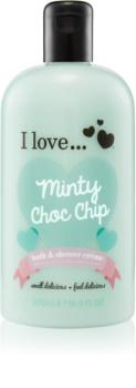 I love... Minty Choc Chip tusoló és fürdő krém