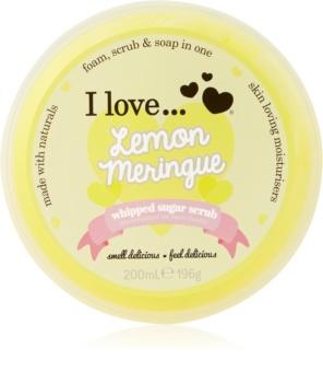 I love... Lemon Meringue Sugar Scrub