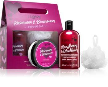 I love... Raspberry & Blackberry coffret cadeau I. (pour la douche)