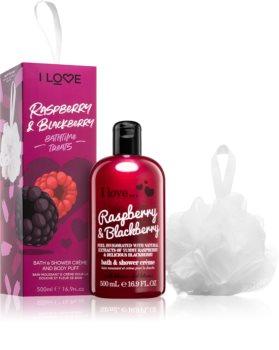 I love... Raspberry & Blackberry Gavesæt  (til badet)