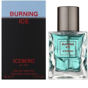 Iceberg Burning Ice Eau de Toilette para homens