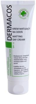 Ideepharm Dermacos Combination Oily Acne Skin creme de dia matificante SPF 15