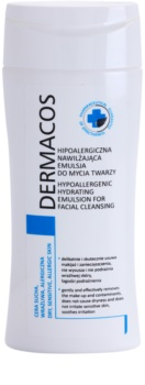 Ideepharm Dermacos Dry Sensitive Allergic Skin emulsão de limpeza hipoalergénica com efeito hidratante