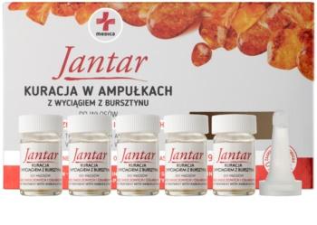 Ideepharm Medica Jantar obnovitvena kura za poškodovane in krhke lase
