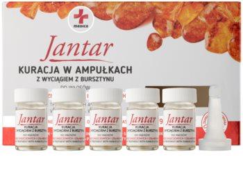 Ideepharm Medica Jantar tratament regenerator  pentru parul deteriorat si fragil