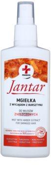 Ideepharm Medica Jantar öblítést nem igénylő hajkúra a károsult hajra