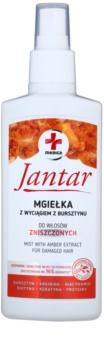 Ideepharm Medica Jantar грижа за коса без отмиване за увредена коса