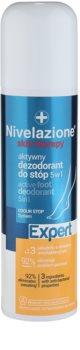 Ideepharm Nivelazione Expert desodorizante ativo  para  pés 5 em 1 em spray