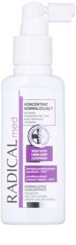 Ideepharm Radical Med Normalize concentrado para cabelo e couro cabeludo oleosos
